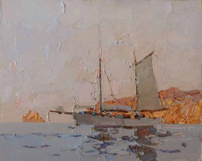 Select Sold Works: Daniil Volkov - Yacht
