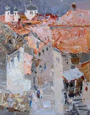 Select Sold Works: Daniil Volkov - Tiled Town