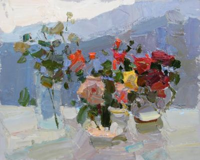 Select Sold Works: Daniil Volkov - Flowers in the Sun