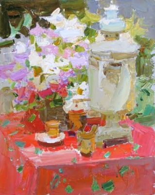 Select Sold Works: Daniil Volkov - Samovar