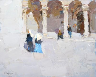Select Sold Works: Daniil Volkov - Walking Nuns