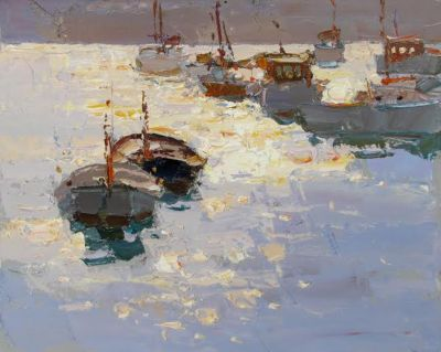 Select Sold Works: Daniil Volkov - Sun Specks of Light