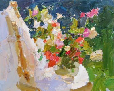 Select Sold Works: Daniil Volkov - Roses