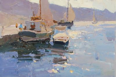 Select Sold Works: Daniil Volkov - Sailboats