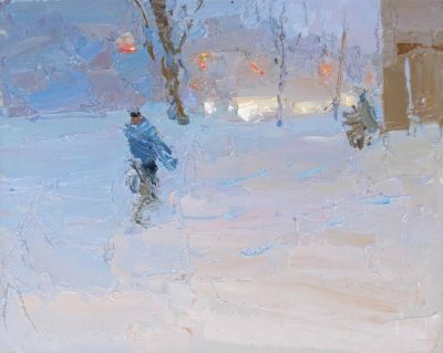 Daniil Volkov - Snowy Evening