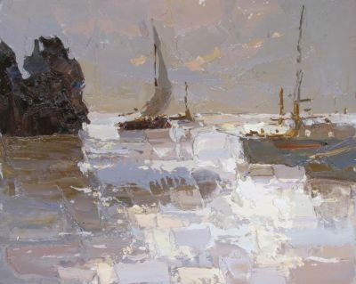 Select Sold Works: Daniil Volkov - The Sea