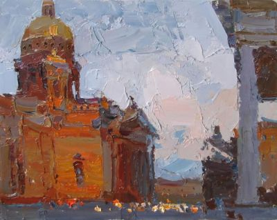 Select Sold Works: Daniil Volkov - Evening Lighting