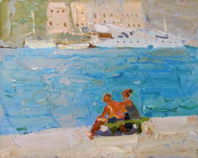 Select Sold Works: Daniil Volkov - On Vacation