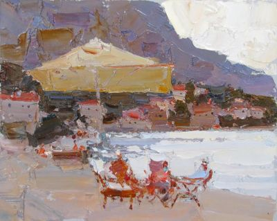 Select Sold Works: Daniil Volkov - At the Sea