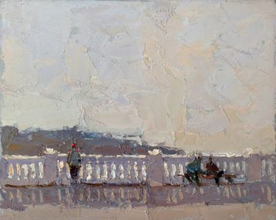Select Sold Works: Daniil Volkov - Embankment, Mirage