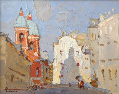 Select Sold Works: Daniil Volkov - City of Peter