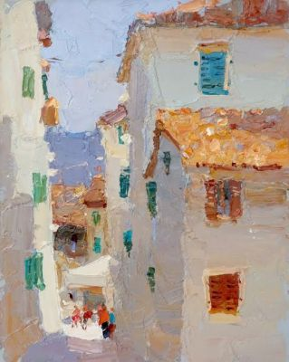 Select Sold Works: Daniil Volkov - South Town