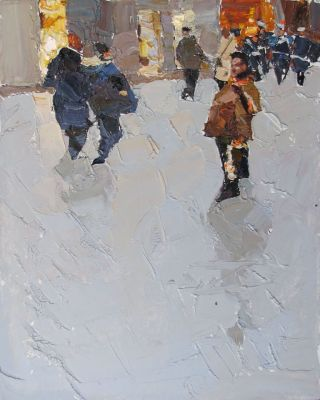 Select Sold Works: Daniil Volkov - Walk