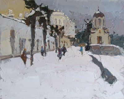 Select Sold Works: Daniil Volkov - Snow