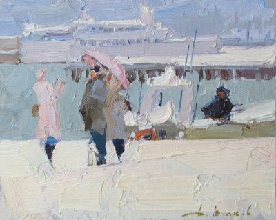 Select Sold Works: Daniil Volkov - Winter in Yalta