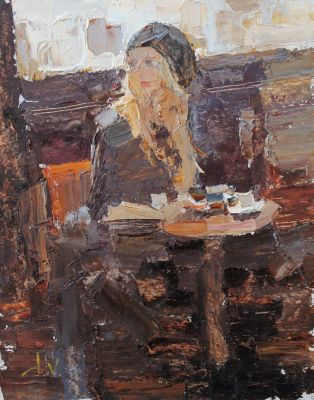 Daniil Volkov - In the Cafe