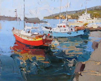Select Sold Works: Daniil Volkov - Morning in the Port