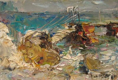 Select Sold Works: Tuman Zhumabaev - Sun and Wind