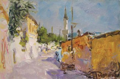 Select Sold Works: Tuman Zhumabaev - Street to Palace