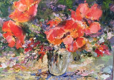 Tuman Zhumabaev - Poppies