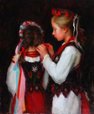 Select Sold Works: Marci Oleszkiewicz - Finishing Touches