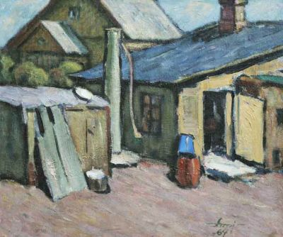 Albert Anni - Village Well, 1964