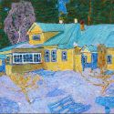 Kim Britov - Winter at the Dacha