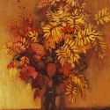 Sold Works: Ilmar Kimm - Still Life with Autumn Leaves