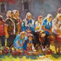 Select Sold Works: Ivan Vityuk - On Holiday at Church