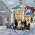 Select Sold Works: Ivan Vityuk - Frosty Day in Suzdal