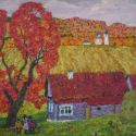 Vladimir Yukin - Autumn in the Village