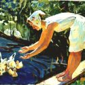 Petr  Basanets - Feeding the Ducks