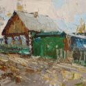 Select Sold Works: Daniil Volkov - In the Village