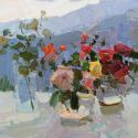 Daniil Volkov - Flowers in the Sun