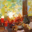 Select Sold Works: Daniil Volkov - Autumn Still Life