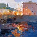 Select Sold Works: Daniil Volkov - At the Evening