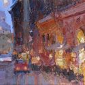 Select Sold Works: Daniil Volkov - Walking in Rome