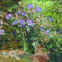 Tuman Zhumabaev - Purple Flowers